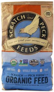 Scratch and Peck Feeds Premium Organic Turkey Grower with Corn