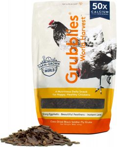 Grubblies World Harvest- Natural Grubs for Chickens