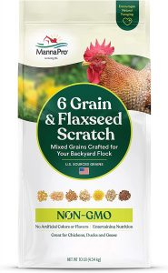 Manna Pro 6 Grain and Flaxseed Scratch