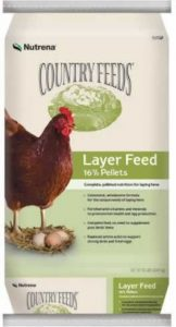 Nutrena Country Feeds 16% Layer Pellets Chicken Feed