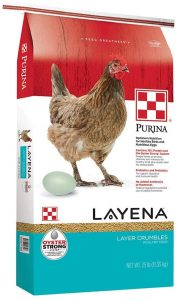 Purina Layena Nutritionally Complete Layer Hen Feed Crumbles